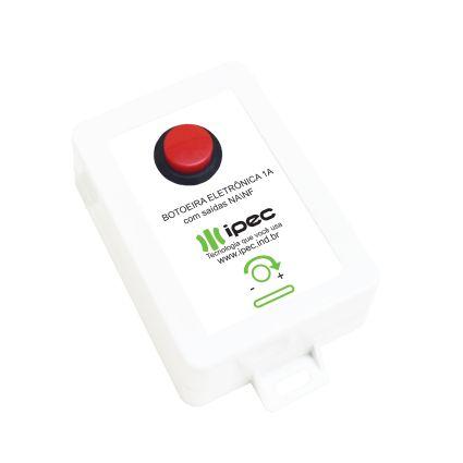 Fonte para fechaduras eletromagnéticas / elétricas com timer e carregador de bateria integrado